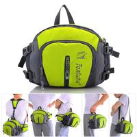 Waterproof Outdoor Hiking Multifunction Sports waist pack bag Water Bottle Unisex Shoulder Slung Bag   Running   Waist Backpack bag