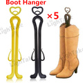 Free Shipping Tall Boots Support Random Color Shoe Trees Longer Stand Holder Boot Shaper Stretcher Clip Shoe Rack