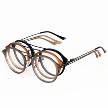 2018 Glaaase Frames Women Men Top Quality Round Vintage Eyeglasses Optical Oculos Computer Glasses myopia