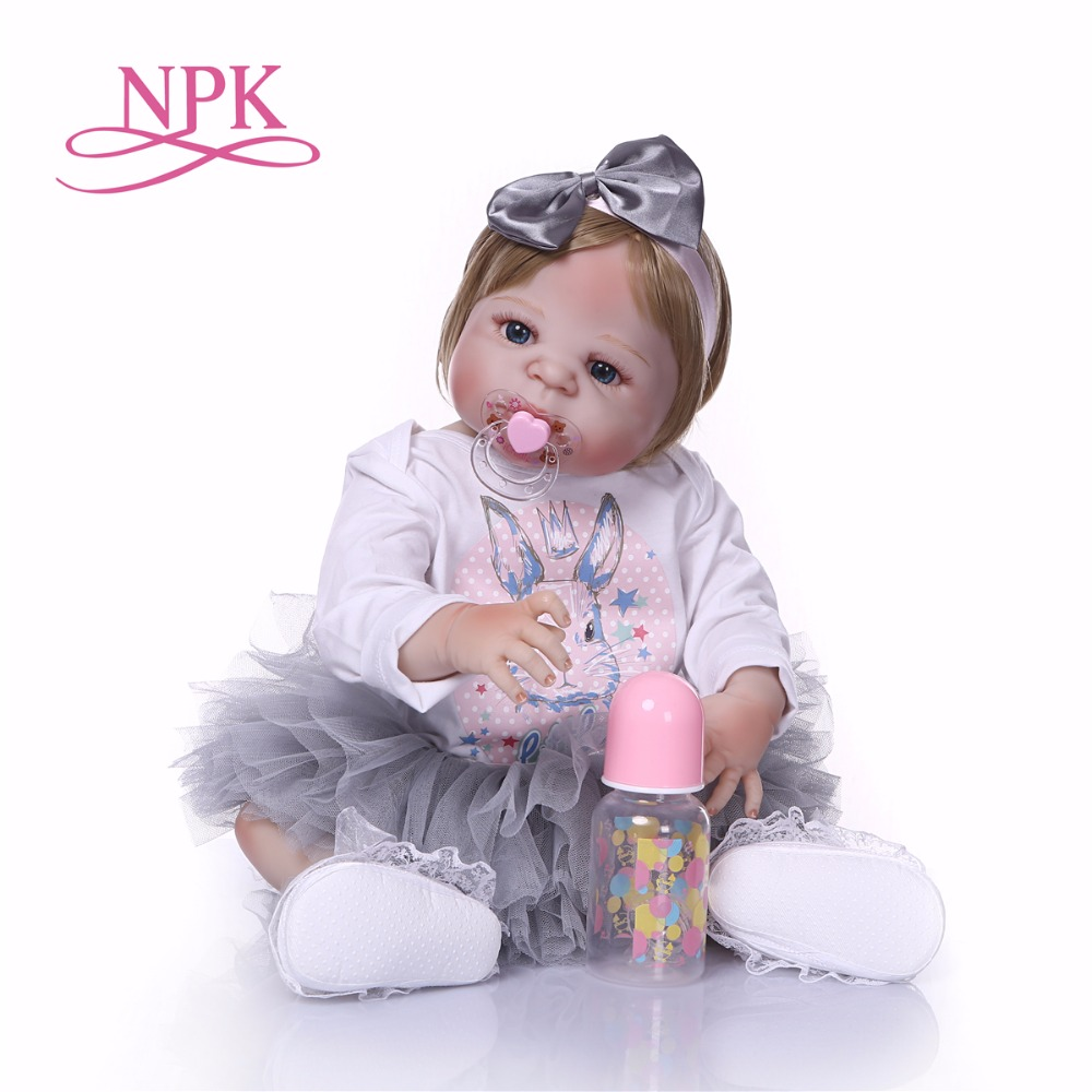 23inch bebe alive Full Silicone Reborn Girl Baby Doll Toys Realistic Newborn Princess Babies Doll Lovely Birthday Gift Present23inch bebe alive Full Silicone Reborn Girl Baby Doll Toys Realistic Newborn Princess Babies Doll Lovely Birthday Gift Present