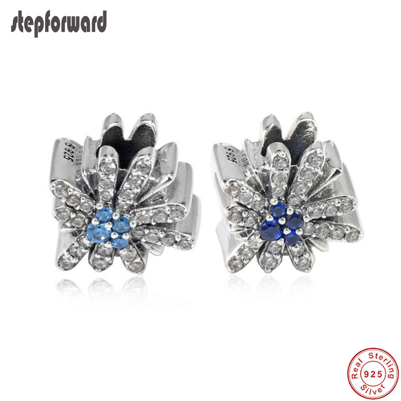 Beads Zoudky New 100% 925 Sterling Silver Dazzling Fireworks Charm Original Womens Jewelry Suitable Charming Fashion Gift