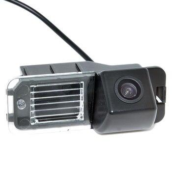 CCD รถย้อนกลับดูกล้องสำรองที่จอดรถที่จอดรถระบบสำหรับ VW Volkswagen Polo V (6R) /กอล์ฟ 6 VI/Passat CC
