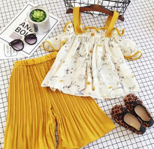 Toddler Baby Kid Girl Floral Outfits Little Girls Strap Vest Tops+Shorts 2Pcs Clothing Set 1-6T Summer Clothes недорого