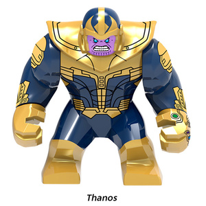 Image 4 - Thanos Building Blocks Energy Stones Gloves Marvel New Avengers 4 endgame Compatible with Super Hero Bricks Toys Building Blocks