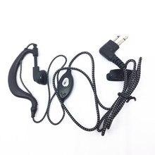цена на 5PCS Black and white braided headphones for Motorola GP88 GP300 GP2000 CP040 GP3188 GP3688 EP450 DEP 450 CP1600 CP100 GP68 GP88S