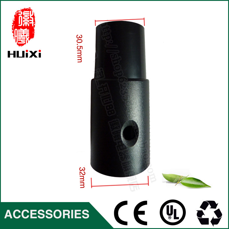 Vacuum cleaner parts inner diameter 32mm to 32mm PP Plastic perforated victaulic joint/ Connector for Idustrial Vacuum Cleaner