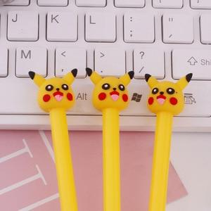Image 3 - 36 PCs Korea creative cartoon gel pen cute pocket pen student stationery