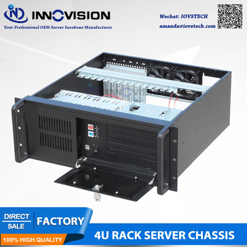 Image 3 - Stable 4Urack mount chassis RC450 IPC Case 1.2 2.0mmSGCC Material-in Industrial Computer & Accessories from Computer & Office