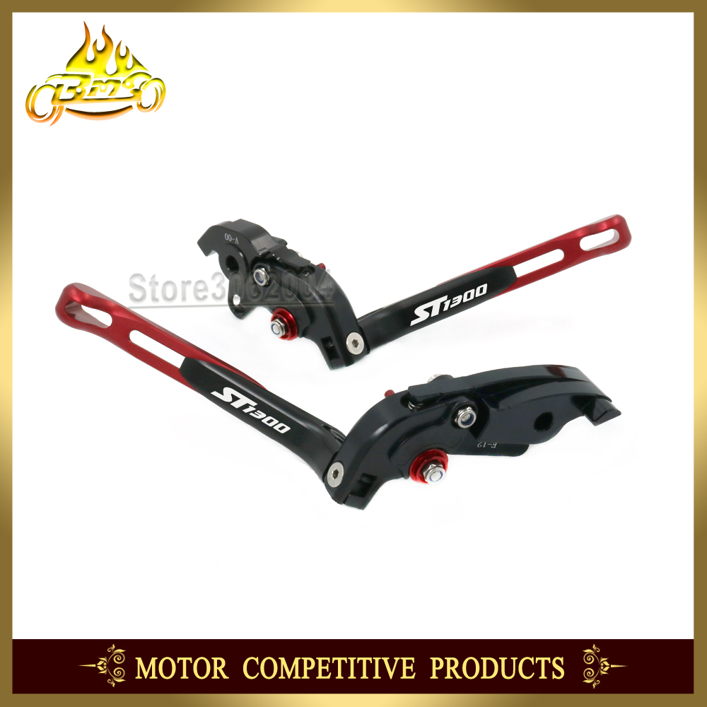 Folding Extendable Adjustable Motorcycle Brakes Clutch Levers For HONDA ST1300 ST 1300 ST 1300 2008 2012