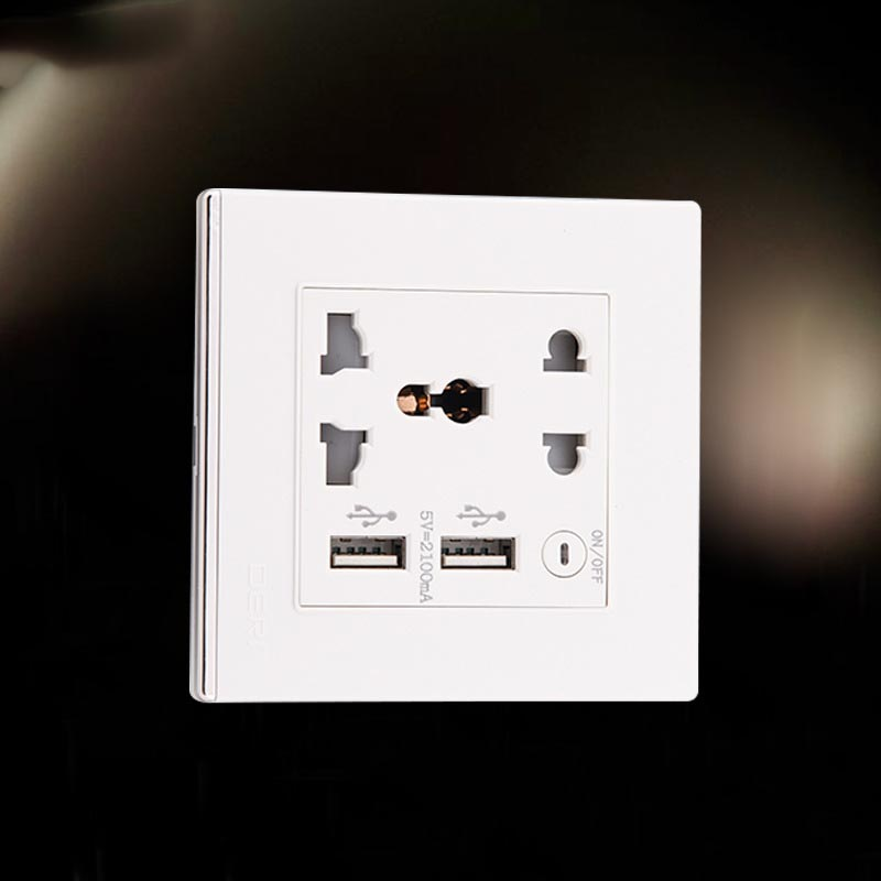 20 шт./лот Белый USB розетки переменного тока 5 В 2100ma США Великобритании ЕС AU розетки 2 Порты и разъёмы USB выход мощность Зарядное устройство для …