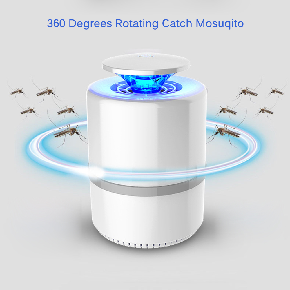 USB Radiationless Electronic Mosquito Killer Trap Household Mute UV Lamp Fly Catcher Lamp Anti Mosquito Repellent Pest Zapper