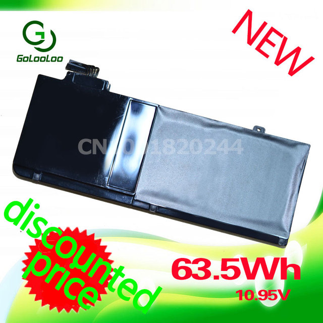 """Golooloo Laptop Battery For APPLE MacBook Pro 13"""" A1278 (2009 Version) MC700 MC374 MB990 Replace A1322 Battery"""