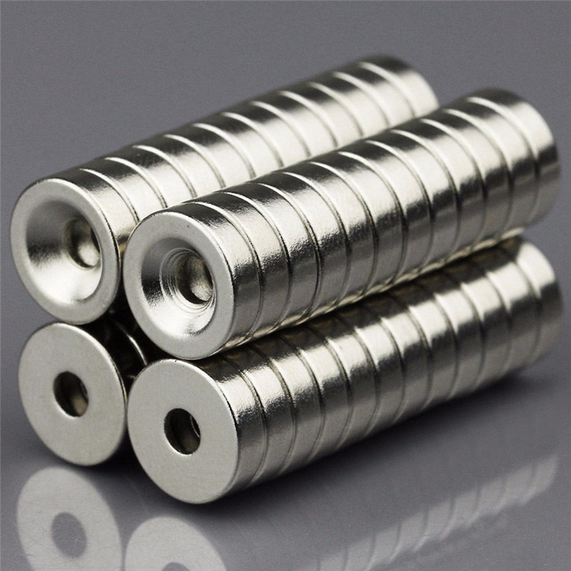 50pcs 10 x 3mm Hole 3mm Strong Ring Magnet D Countersunk Rare Earth Neodymium Magnets Permanent magnet 10mm x 3mmN50 100pcs 10 x 3mm hole 3mm n50 strong ring magnet d countersunk rare earth neodymium magnets permanent magnet 10mm x 3mm hole 3mm