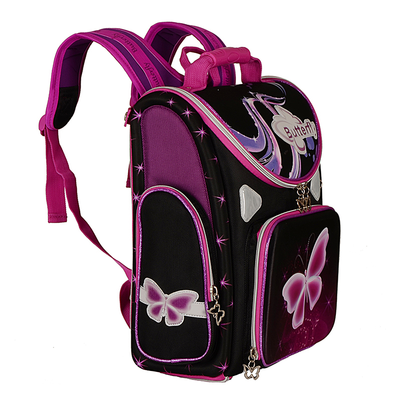 Excellent Orthopedic Children School Bags For Girls Butterfly ...
