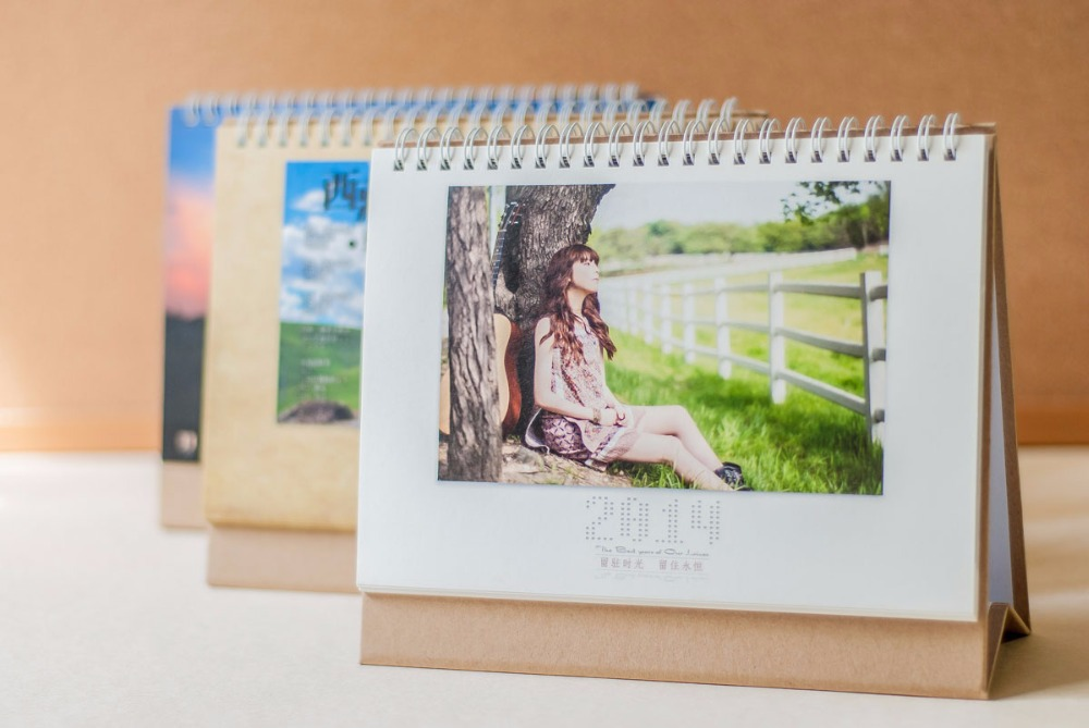 2016 Table Calendar Diy Calendar Custom Print Production Printing
