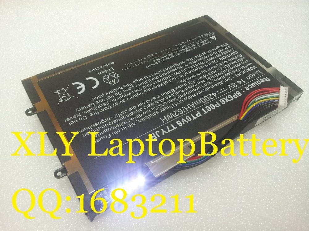 Batterie für dell alienware m11x m14x r1 r2 r3 serie pt6v8 8p6x6...