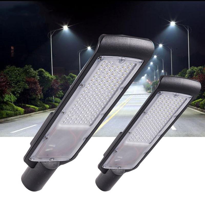 1pc Waterproof IP65 30W/50W Led Light Street Lamp Outdoor Road Lamp Led Street Flood Light Garden Spot Lamp AC85-265V 1