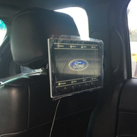TV In Car DVD Player Dual Screen Headrest With Monitor For Ford F 150 Android 6.0 Rear Seat Entertainment Systems