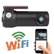 Mini Wifi Car DVR Video Hidden Type Recorder Camcorder Wireless Auto Camera HD 1080P Dash Cam APP Monitor Cycle Recording