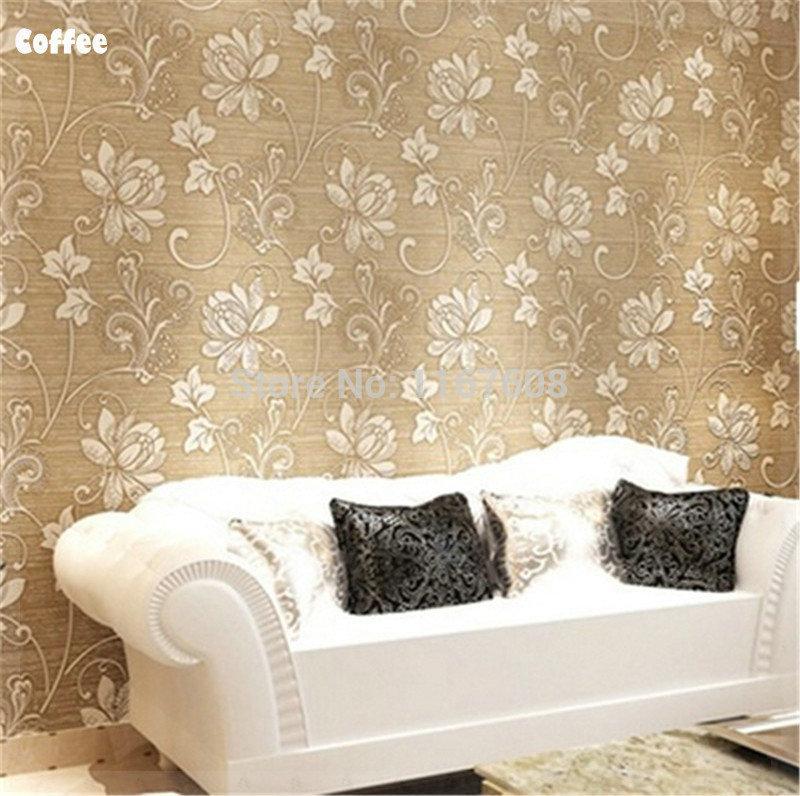 Ticken Living Room Wall Paper Sticker 10M Europe Modern Tapete