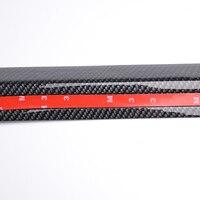 Rubber Splitter Valance Chin Body Guard front bumper lip Side Skirt Spoiler for toyota rav4