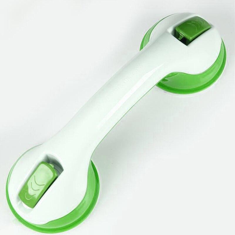 Горячие противоскользящие часы с чашкой на присоске для ванной ручка поручень для пожилых безопасная Ванна Душ Ванна Ванная Душ поручень ручка рельса NE - Цвет: Зеленый
