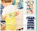 2017 verão bebê menino roupas BOBO CHOSES kikikids menina roupa do bebê roupas de bebê macacão de BEBÊ crianças jumpsuites kikikids especial