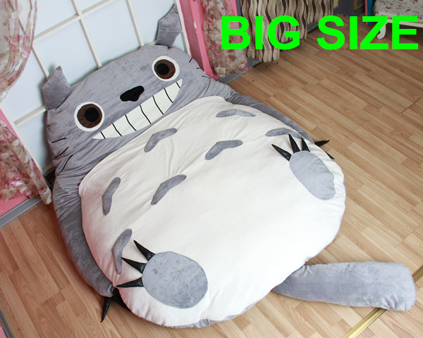 Big Size My Neighbor Totoro Stuffed Plush Toys Doll Large Cat Animals Soft TV Movie Character