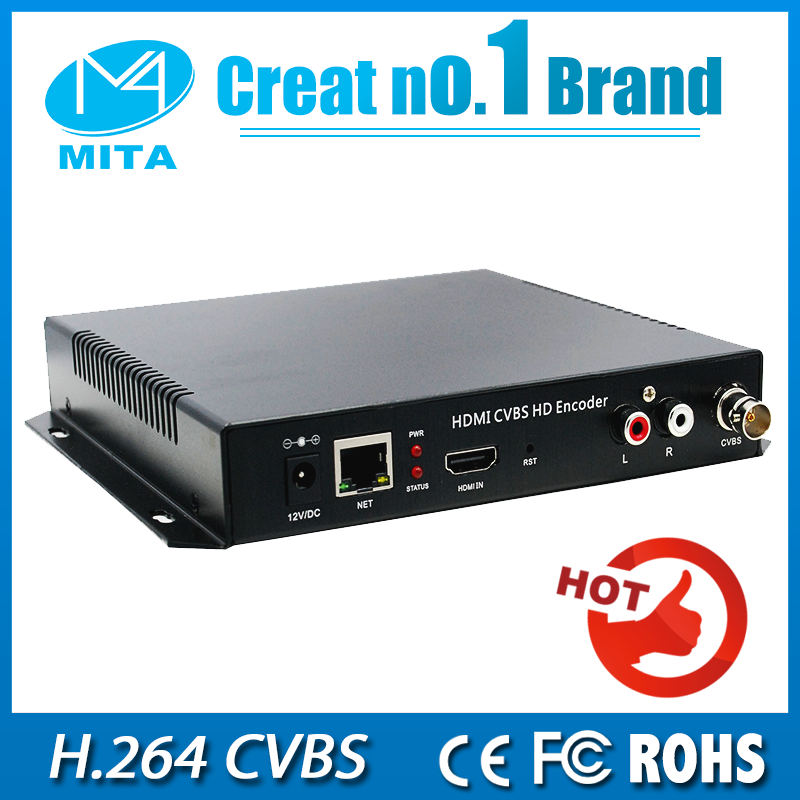 DHL Free Shipping H 264 Video Encoder Support HDCP HDMI To IP Live