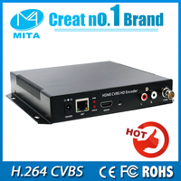 HD MPEG 4 AVC H.264 CVBS+hdmi encoder independent for Live Streaming with HTTP RTSP RTMP HLS ip audio encoder