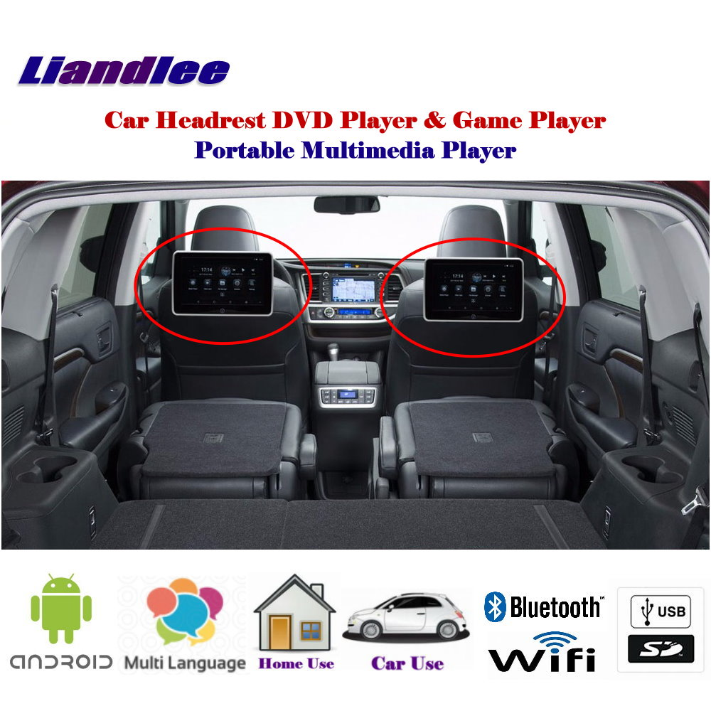 10.1 Inch Car Android Player Andriod Multimedia Back Seat Entertainment System / Portable Headrest Hd Monitor Screen Crazy Price