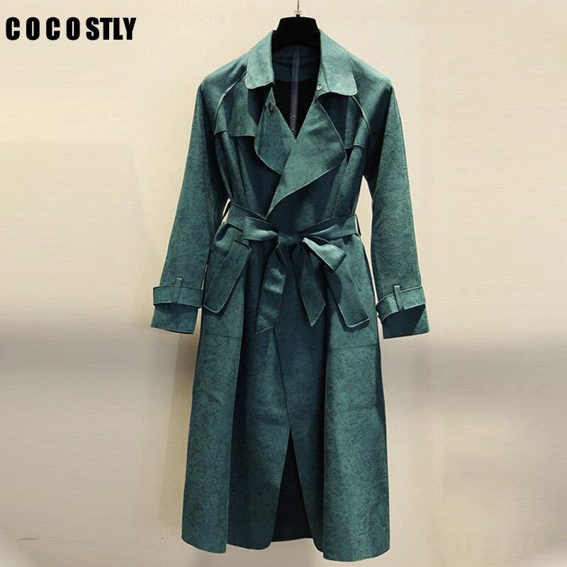 f5b1172 groene trenchcoat dames