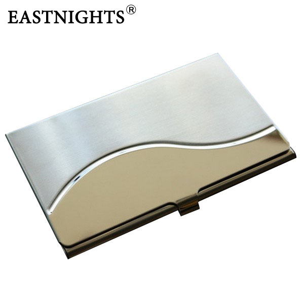 Wholesale 10pcslot oem make customer logo stainless steel men wholesale 10pcslot oem make customer logo stainless steel men women name card case business card holder promotion gift in card id holders from luggage reheart Image collections