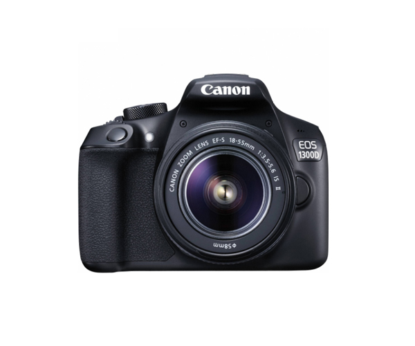 Canon EOS 1300D Rebel T6 DSLR Wi-Fi Camera & EF-S 18-55mm IS II Lens canon eos 760d t6s dslr camera body