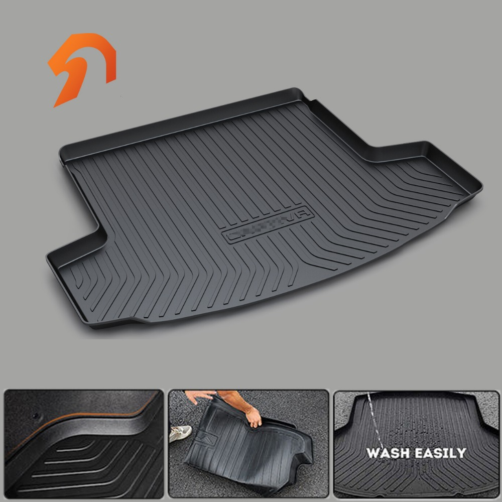 RUBBER TRUNK MATS for Chevrolet TRAX Cavalier MALIBU XL SAIL ORLANDO Captiva BOOT LINER REAR TRUNK CARGO MATS FLOOR TRAY CARPET chevrolet orlando в уфе