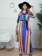 Boho повседневные Длинные вечерние пляжные платья 4xl женское