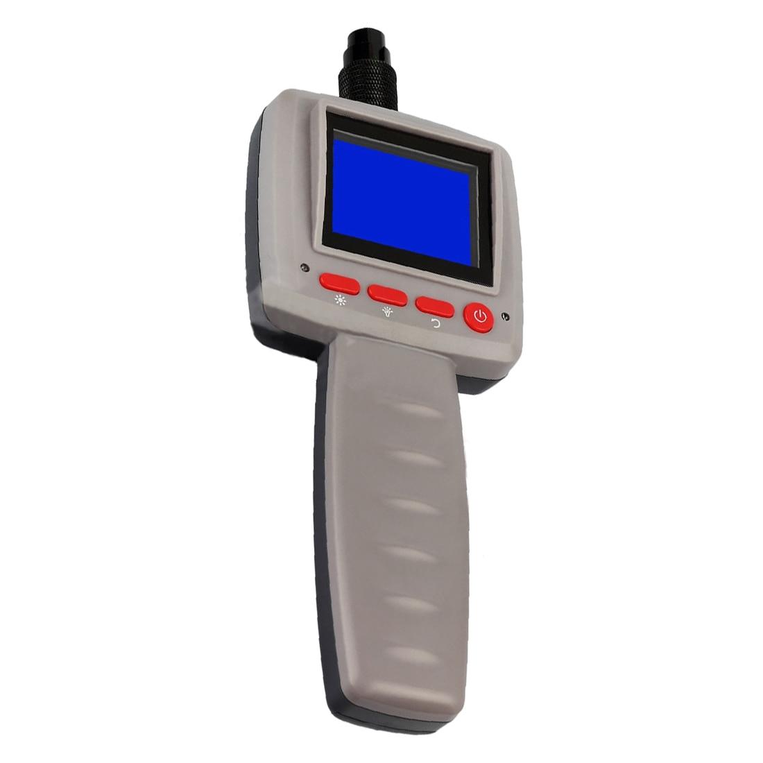 MOOL 2.4 Video LCD Inspection Endoscope Borescope 1m Pipe 10mm Camera Snake Scope explorer 8807al inspection camera boroscope 1m cable 4 5 mm 3 5 lcd recordable wireless inspection camera video borescope