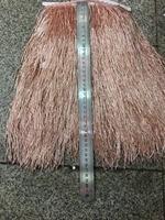 stock tassel 5 yards/bag ym301# Rose gold tassel stock 30cm tubular bead for sawing dress fringe trim alibaba express