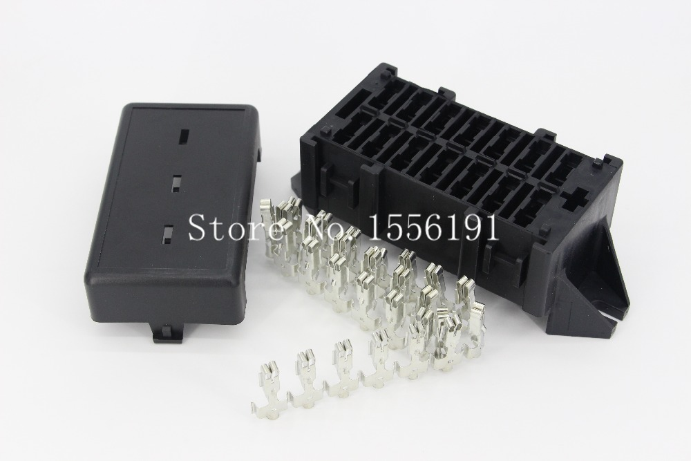 14 Way Auto Fuse Box Assembly With Terminals Dustproof Rhaliexpress: Fuse Box Terminal Front View At Elf-jo.com