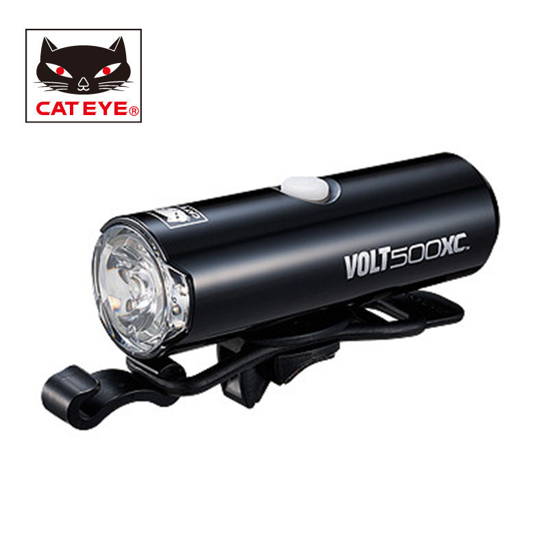 CATEYE Bike Front Light Waterproof USB Rechargeable MTB LED Headlight Built In Battery Flashlight Lamp Bicycle