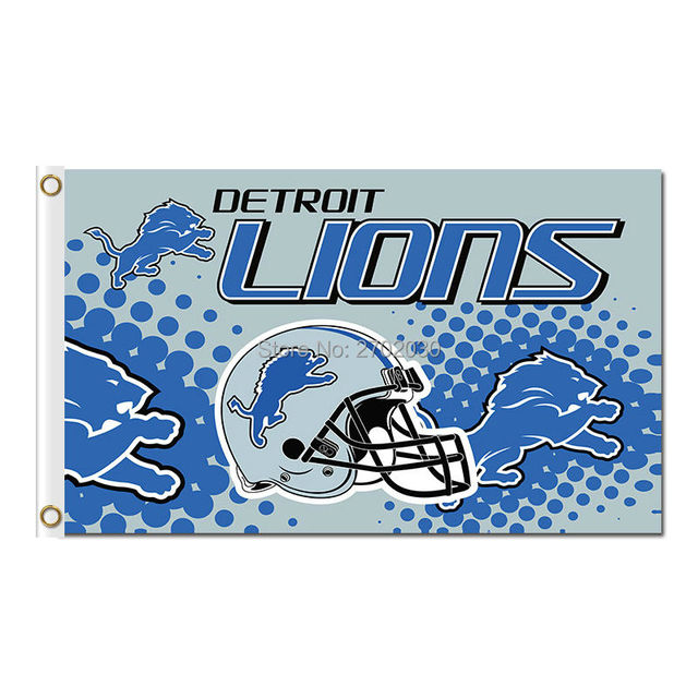 New Detroit Lions Flag Premium Team Sport Super Bowl Champions 3ft X 5ft  for cheap