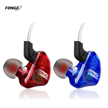 Original 3.5mm In-ear Earphone Heavy Bass Headset Noise Canceling Wired HiFi Earbuds For Phone MP3 MP4 With Mic