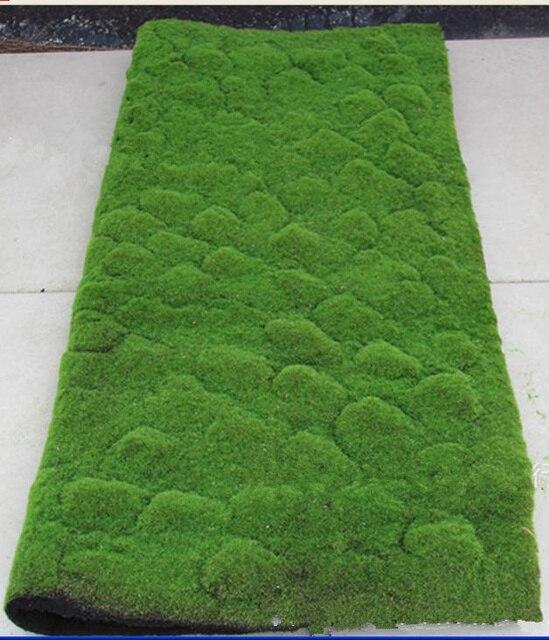 Bekend 1 m * 1 m kunstmatige groen mos tapijt moss muur bron materiaal  DC83