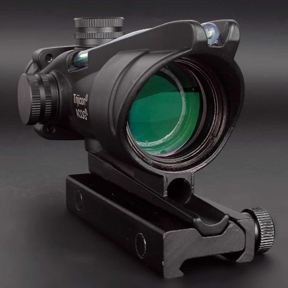 شيفرون الفريق التعاوني 4X32 Riflescopes الأحمر الأخضر مضيئة محفورا شبكاني ريد دوت نطاق البصر التكتيكي Trijicon الصيد نطاقات