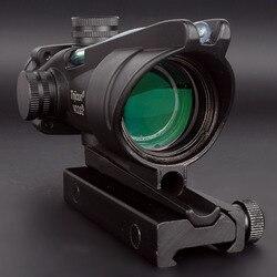 Шеврон 4X32 оптические прицелы красный зеленый горит гравированный сетка Red Dot охотничий прицел тактический Trijicon охотничьи прицелы