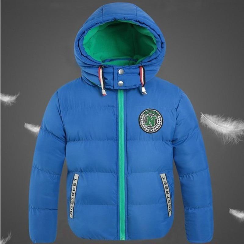 Hot Selling 2016 Winter Jacket Boy Velvet Cotton Thick Warm Children Winter Coat Winter Boys Outerwear