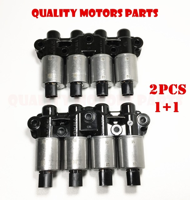 US $99 53 17% OFF|DQ200 DSG 7 speed 0AM OAM Transmission oil control  solenoids kit 2pc for VOLKSWAGEN AUDI SEAT Passat -in Automatic  Transmission &