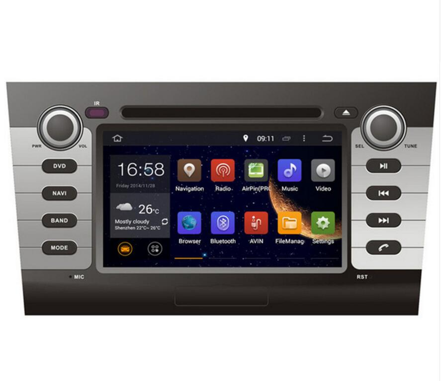 GIFTS ROM 16G Quad Core Android 7.1 Fit <font><b>SUZUKI</b></font> <font><b>SWIFT</b></font> 2004 <font><b>2005</b></font> 2006 - 2010 CAR DVD PLAYER Multimedia Navigation GPS DVD RADIO image