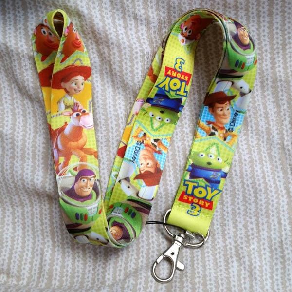 Free Shipping 10pcs Cartoon Toy Story  Lanyards Neck Strap Keys Camera ID Card Mobile Phone Neck Straps C-230