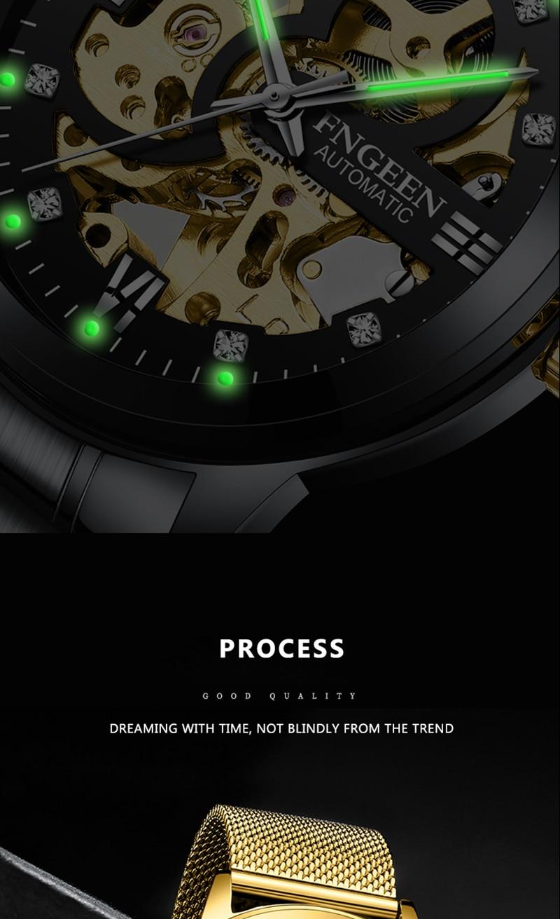 HTB1c7.PvnCWBKNjSZFtq6yC3FXaq Skeleton Watch 2019 New FNGEEN Sport Mechanical Watch Luxury Watch Mens Watches Top Brand Montre Homme Clock Men Automatic Watch